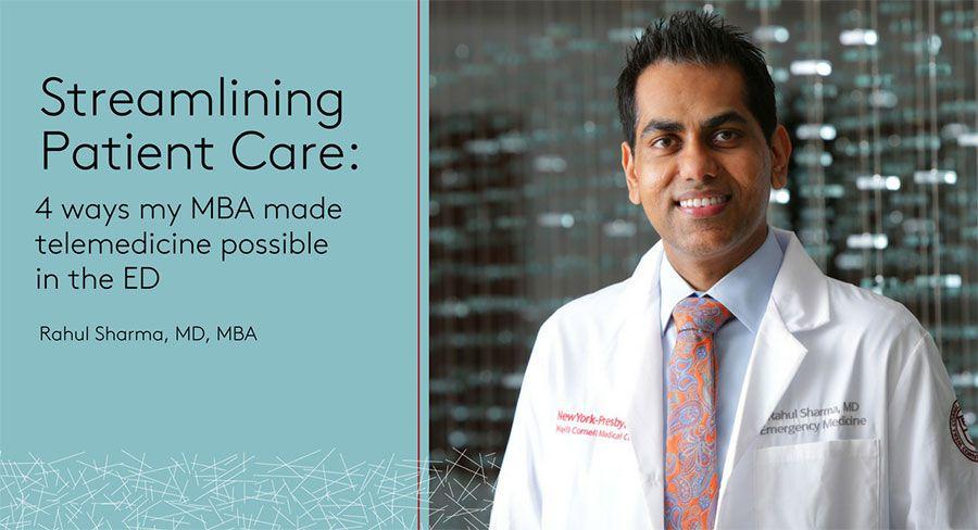 Streamlining Patient Care, Rahul Sharma
